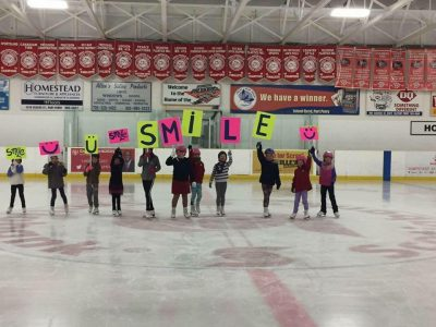 Smile at Port Perry Skating Club