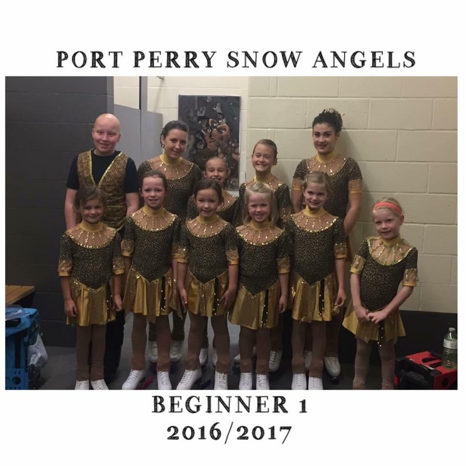 Synchronized Skating - Sno Angels